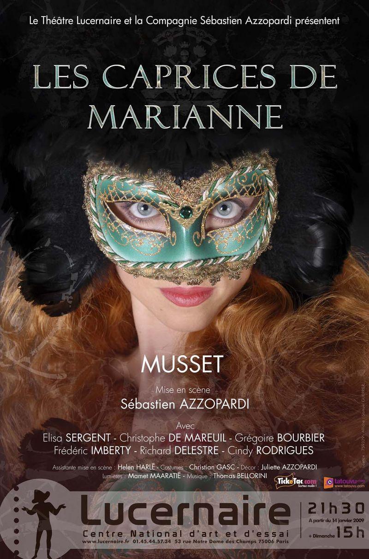 Les Caprices de Marianne au Lucernaire