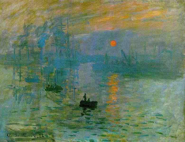 Impression soleil levant, de Claude Monet ?