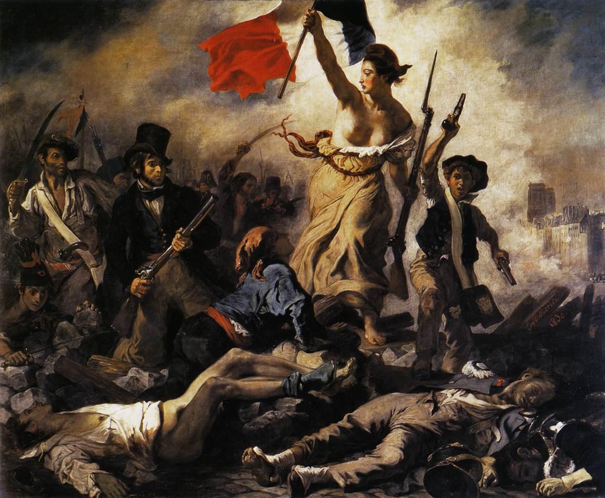 La Liberté guidant le peuple de Delacroix au Louvre-Lens ?