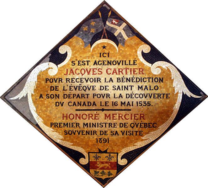 Quel est le lien entre Saint-Malo et le Canada?