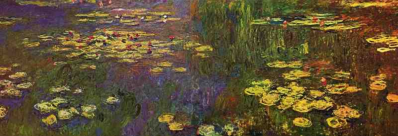 Les Nymphéas de Claude Monet ?