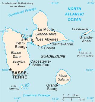 Les 7 îles de la Guadeloupe ?