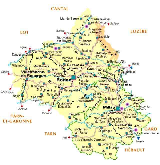 Séjour en Aveyron ?