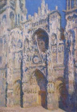 La Cathédrale Notre-Dame de Rouen vue par Monet ?