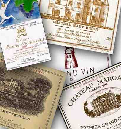 Premiers Crus de Bordeaux ?