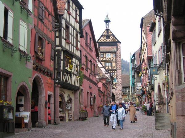 Riquewhir, sur la route des vins d'Alsace?