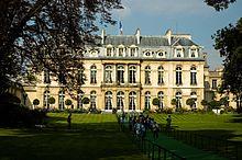 Résidences du Président de la République française ?