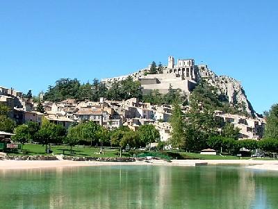 """Sisteron, la """"Porte de la Provence""""  ?"""