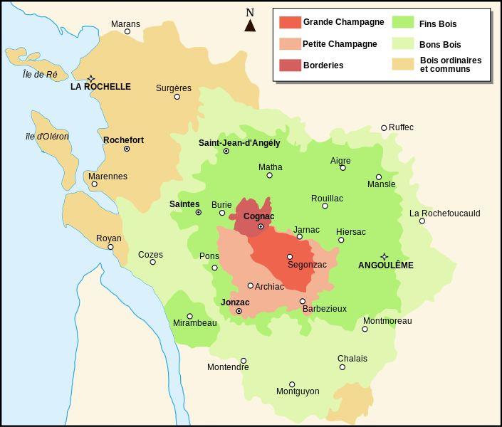 Région du Cognac ?