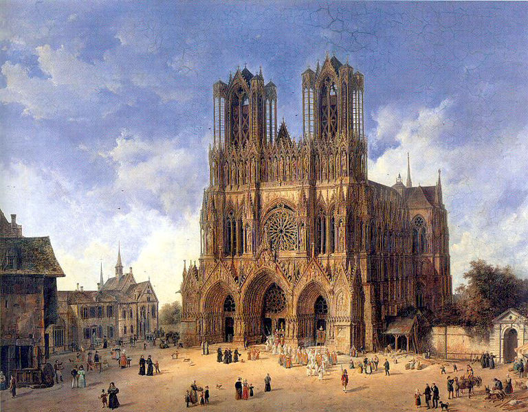 Lieu du sacre des rois de France ?