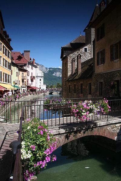 Annecy, la Venise des Alpes ?