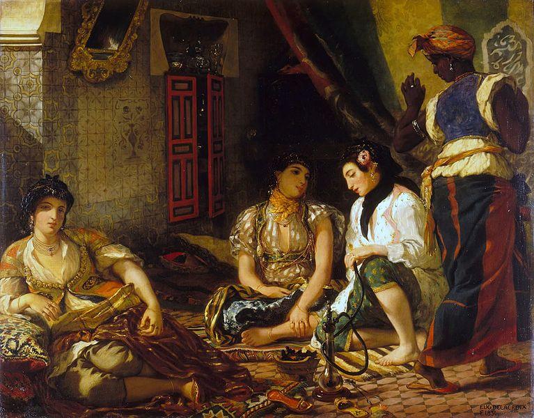 """Où voir """"Femmes d'Alger dans leur appartement"""" de Delacroix ?"""