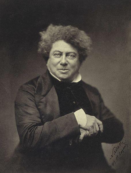 Alexandre Dumas père, par Nadar ?