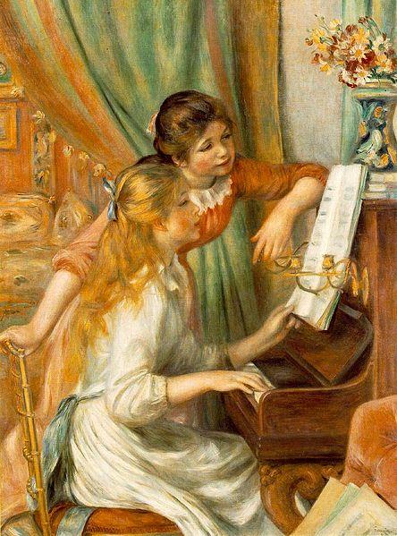 """Où voir """"Jeunes filles au piano"""" de Renoir ?"""