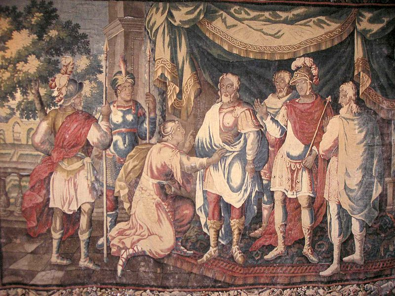 Rencontre de Jeanne d'Arc et du roi Charles VII ?