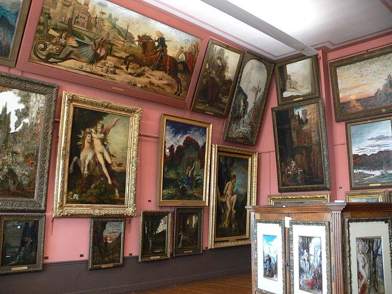 Une visite littéraire au musée Gustave-Moreau ?