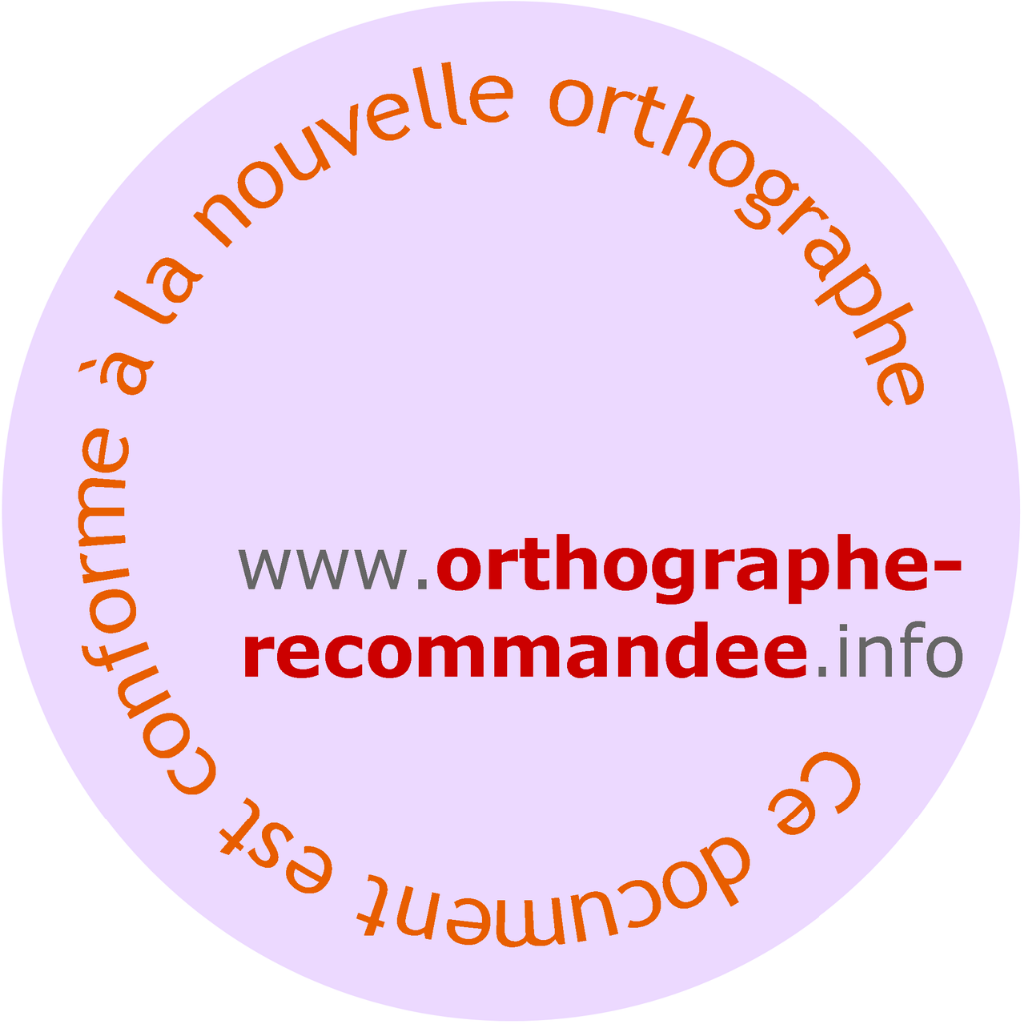 Orthographe_recommandee