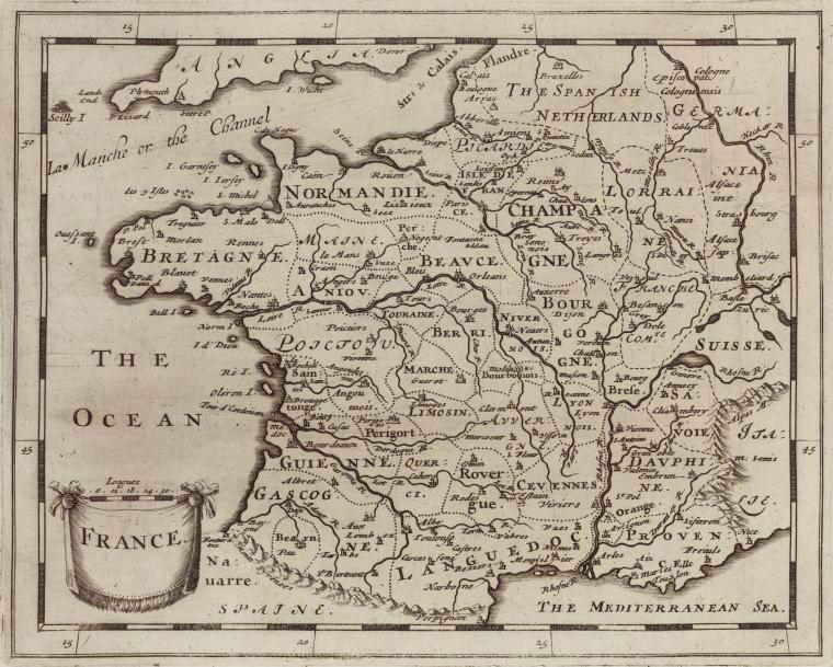 La liste définitive des 18 régions de France ?