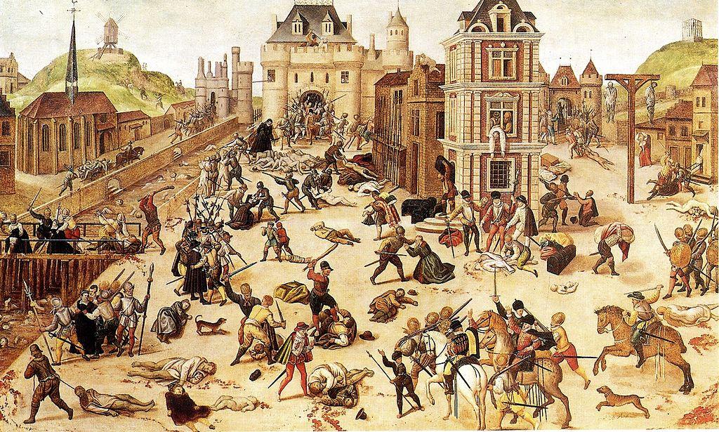 Le massacre de la Saint-Barthélemy ?